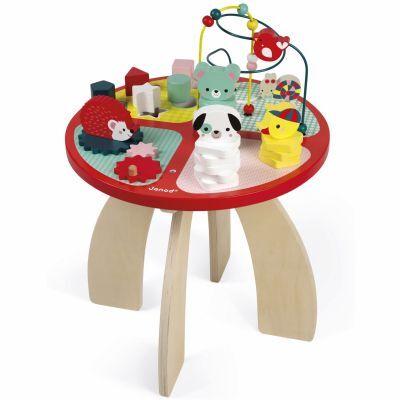 Table d'activités baby forest