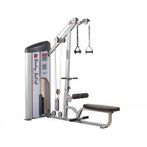 Machine dos Body Solid Pro Clubline Series II S2LAT 75 kg - Publicité
