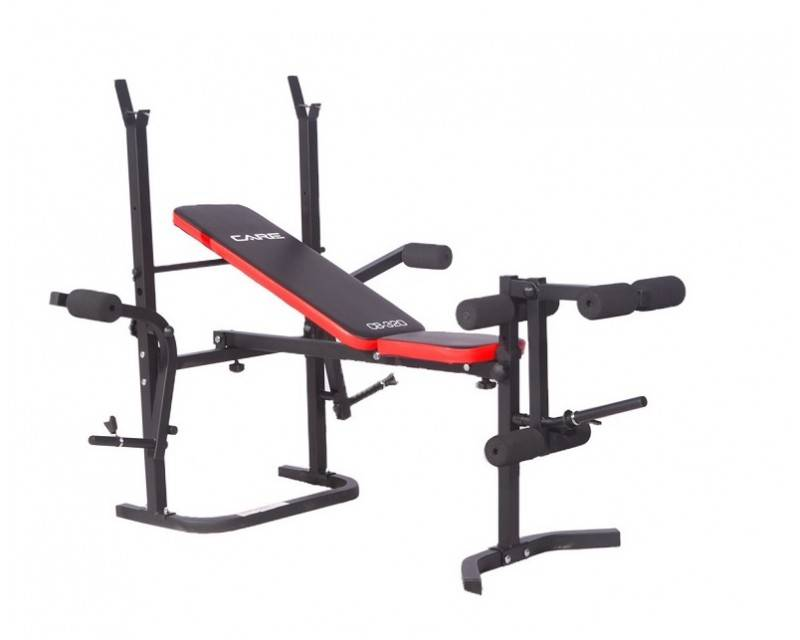 Care Fitness En stock-Banc  musculation CARE CB-320-Expé 48h