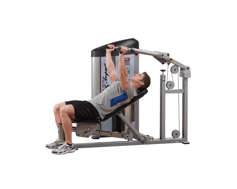 Body Solid Développé couché machine Body Solid Pro Clubline S2MP 95 kg