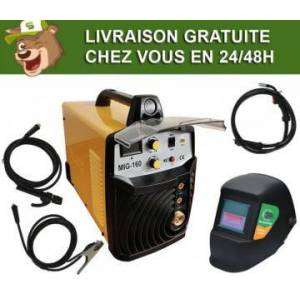 Silex France ® Pack poste à souder multi combiné 160A Silex ® + masque de soudure 100 KNO - Publicité