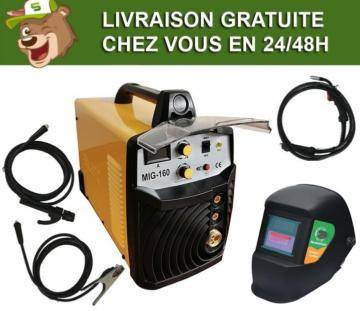 Silex France ® Pack poste à souder multi combiné 160A Silex ® + masque de soudure 100 KNO