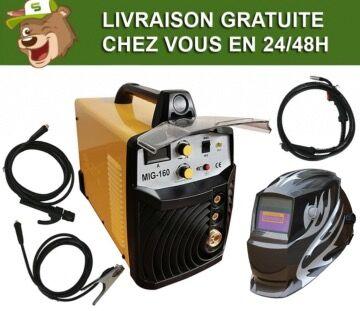 Silex France ® Pack poste à souder combiné 160A Silex ® + masque de soudure 801KNO