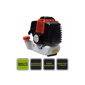 Silex France ® Moteur nu 52CC Silex® pour débroussailleuse thermique TT-BC520 - Publicité