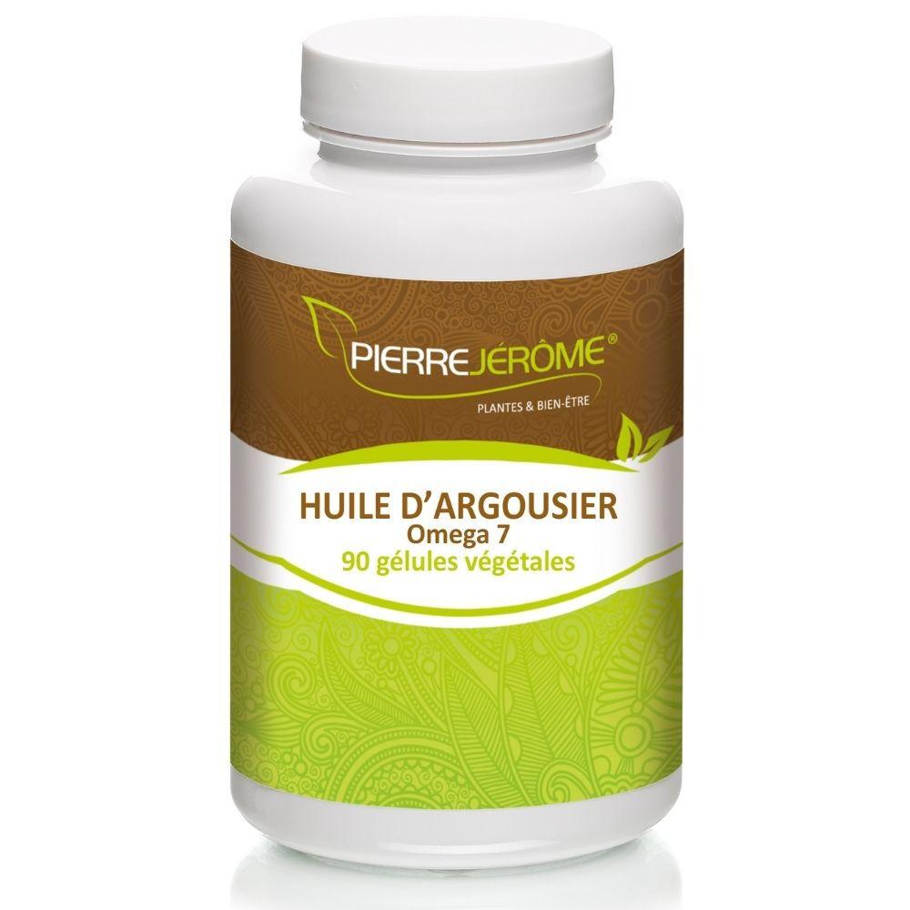 Huile d'argousier – Omega 7 – 90 gélules végétales - A l'unité