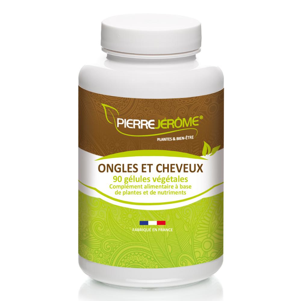 Pierre Jérôme Ongles et Cheveux - 90 gélules végétales