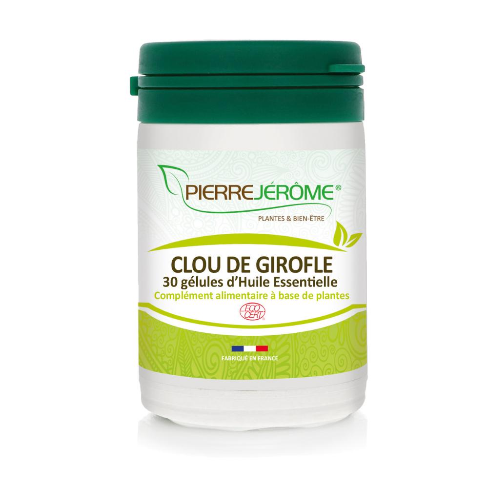 Pierre Jérôme Clou de girofle HE - 30 gélules d'Huile Essentielle - Lot de 2