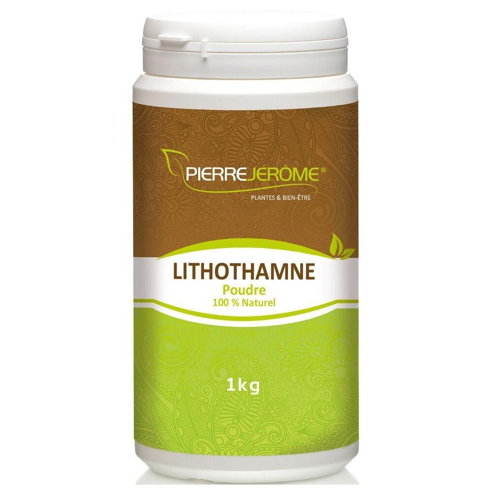 Pierre Jérôme Lithothamne en poudre en pot PEHD inviolable de 1 kg lot de 8