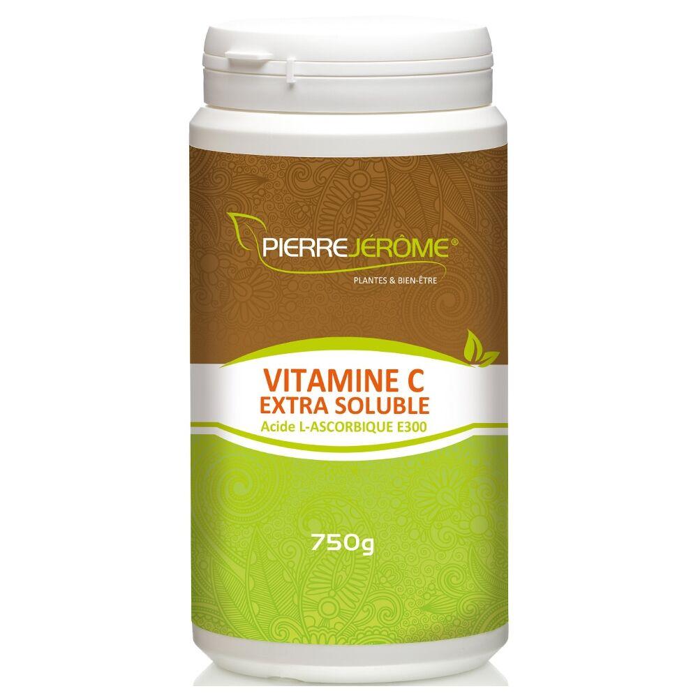 Pierre Jérôme Vitamine C Extra Soluble en poudre en pot PEHD inviolable de 750g lot de 2