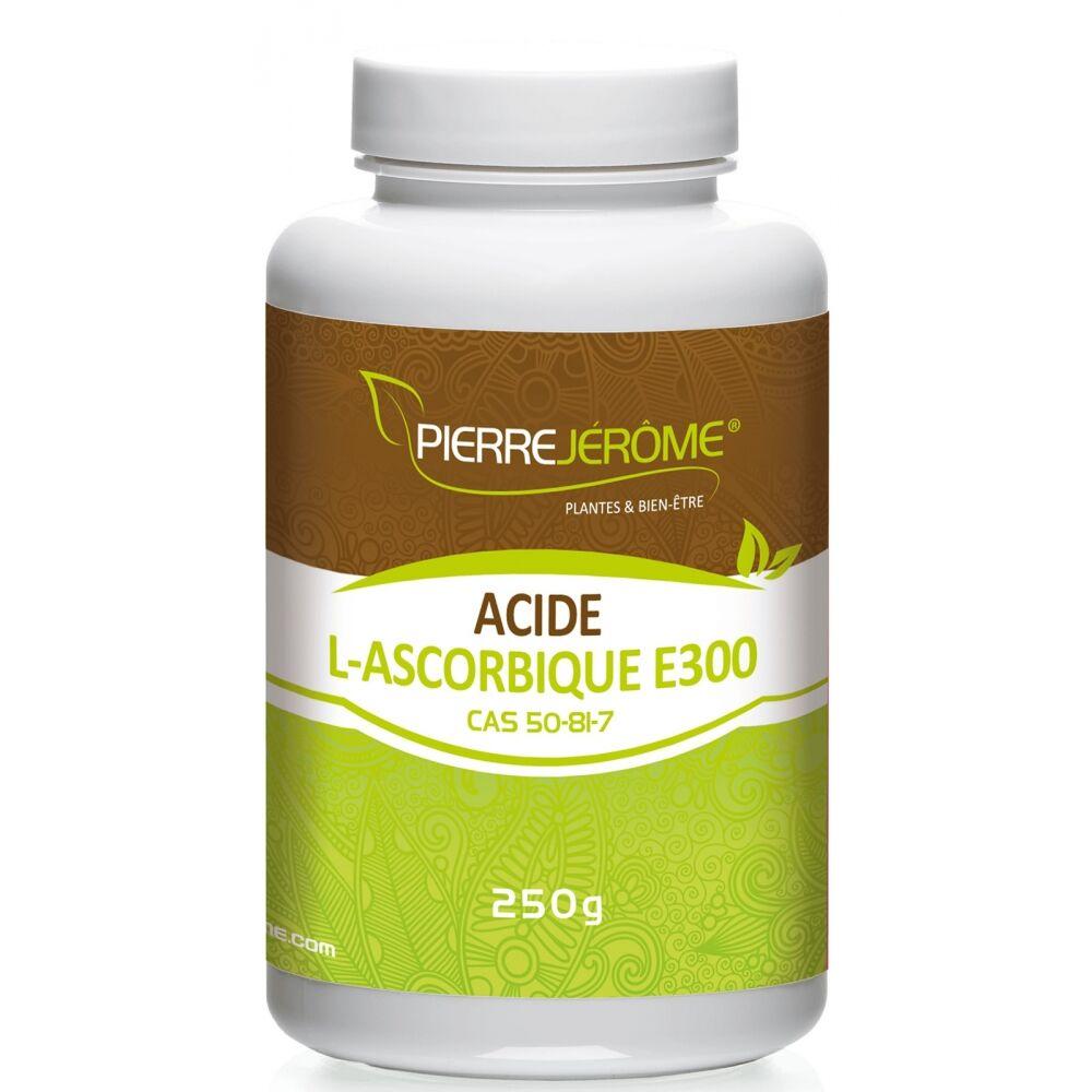 Pierre Jérôme Ascorbate de Sodium en pot en poudre PEHD inviolable de 250g - lot de 4