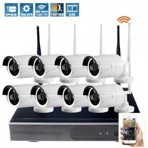 Grantek Kit IP WiFi 8 Caméras Extérieures + Enregistreur - Publicité