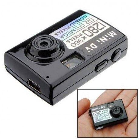 Grantek Micro Appareil Photo Caméscope Numérique Espion