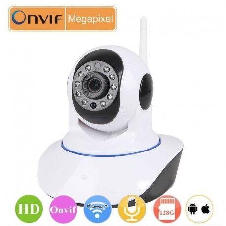 Grantek Camera Surveillance IP Wi Fi Motorisée HD Infrarouge