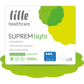 Lille Suprem Light Normal - 28 protections anatomiques