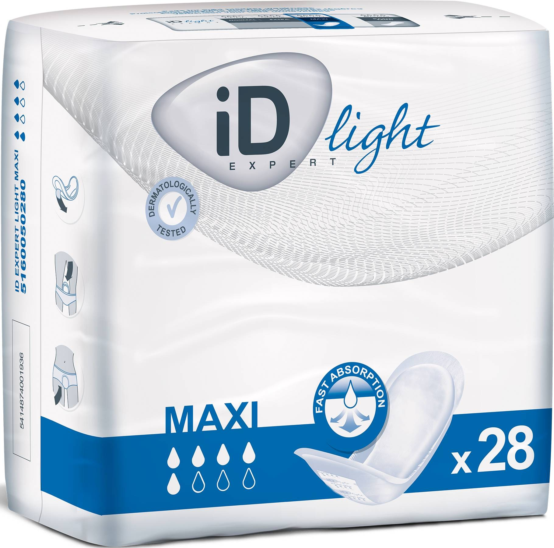 iD Expert Light Maxi - 28 protections anatomiques