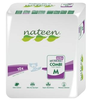 Nateen Combi Ultra Medium - 10 changes complets