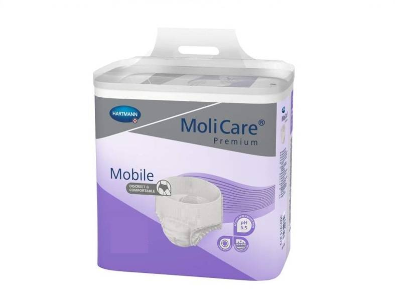 Hartmann MoliCare Premium Mobile 8 gouttes Medium - 14 langes-culottes