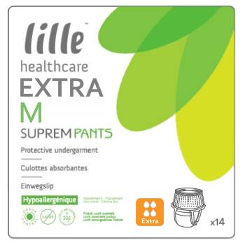 Lille Suprem Pants Extra Medium - 14 changes mobiles