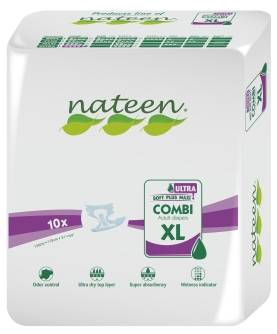 Nateen Combi Super Ultra XL - 10 changes complets