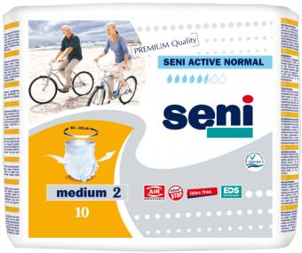 Seni Active Normal Medium - 10 changes mobiles