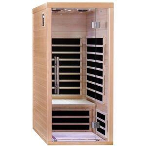 SNÖ Sauna infrarouge panneaux carbone 1670W LUXE 1 place - SNÖ - Publicité