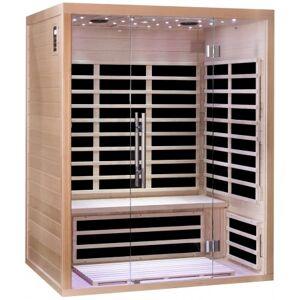 SNÖ Sauna infrarouge panneaux carbone 2220W LUXE 3 places - SNÖ - Publicité