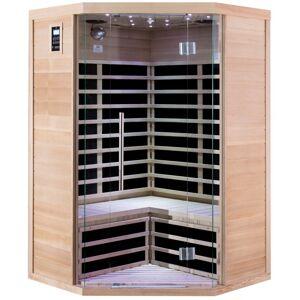 SNÖ Sauna infrarouge d'angle panneaux carbone 2180W LUXE 2-3 places - SNÖ - Publicité