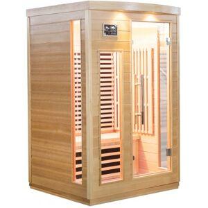 SNÖ Sauna infrarouge panneaux carbone 2050W 2 places - SNÖ - Publicité