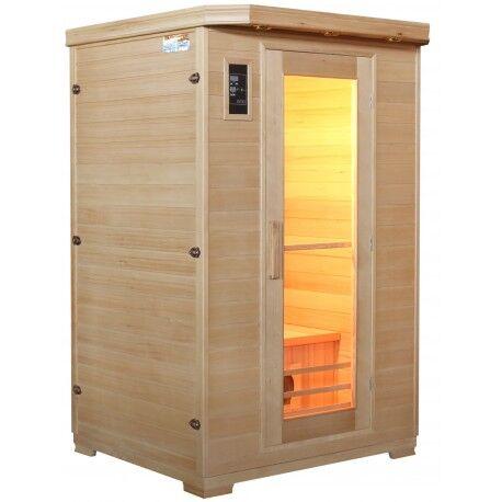 SNÖ Sauna infrarouge panneaux céramique 1750W 2 places - Snö