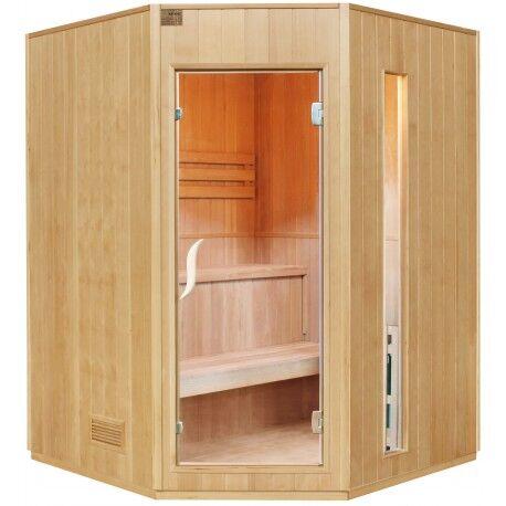 SNÖ Sauna traditionnel 4 places + poêle HARVIA 6000W - SNÖ