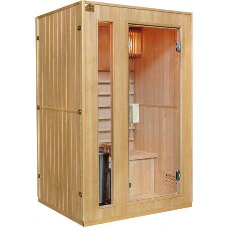 SNÖ Sauna traditionnel 2 places + poêle HARVIA 3500W - SNÖ