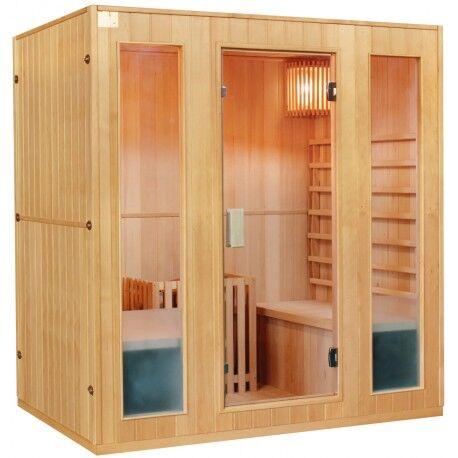 SNÖ Sauna traditionnel 4 places + poêle HARVIA 8000W - SNÖ