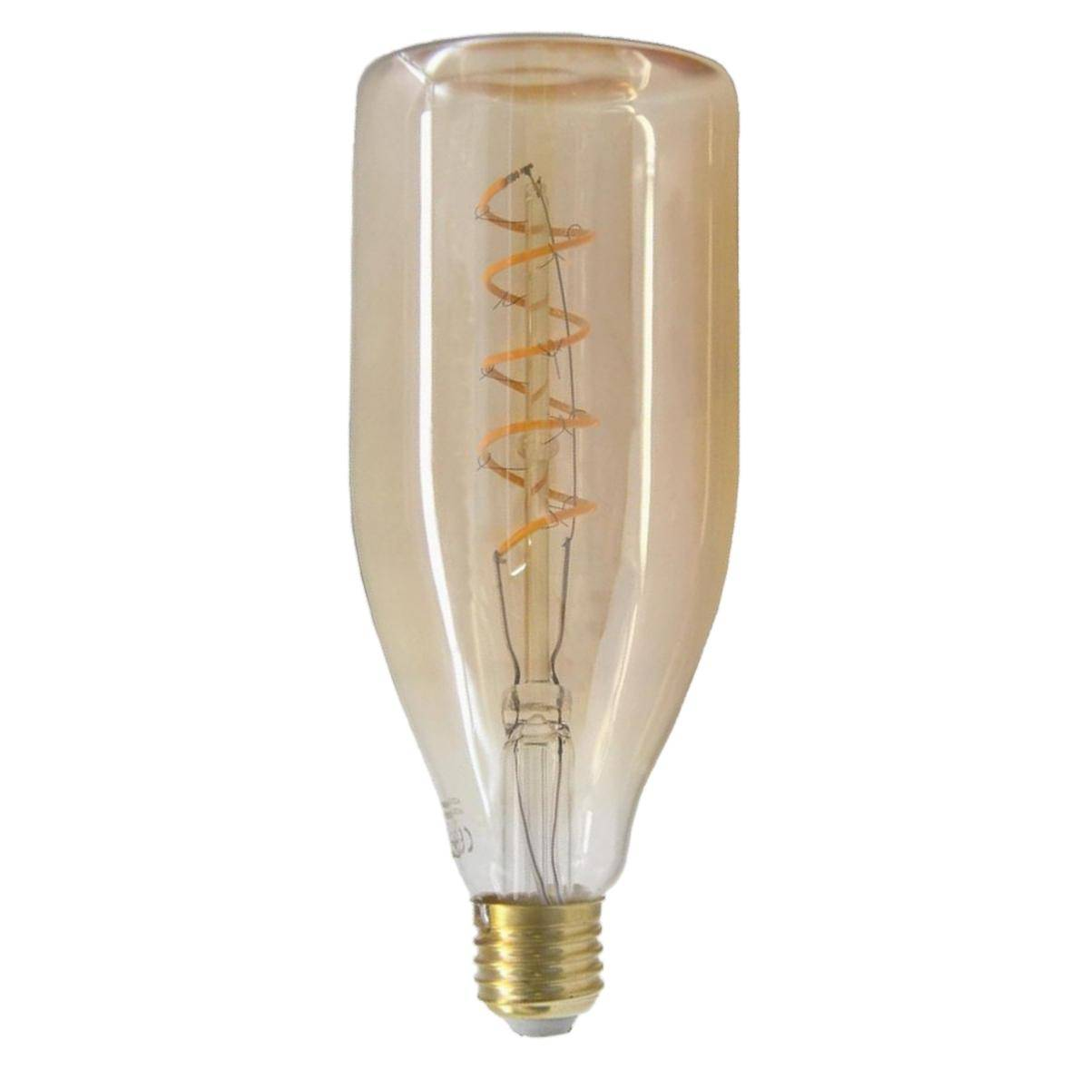 SILAMP Ampoule LED E27 Filament Dimmable 4W Bouteille - Blanc Chaud 2300K - 3500K