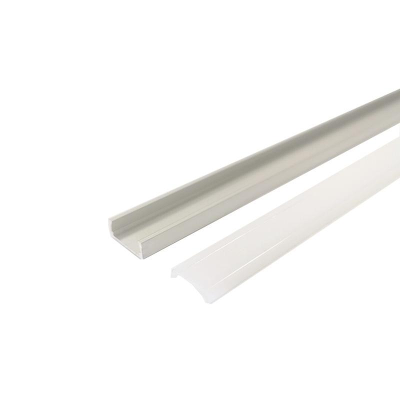 Silamp Profilé Aluminium 1m Flexible pour Ruban LED