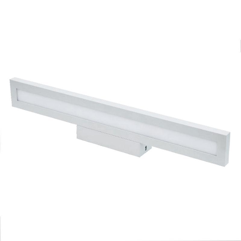 SILAMP Applique Murale Salle de Bain Moderne LED 12W IP44 - Blanc