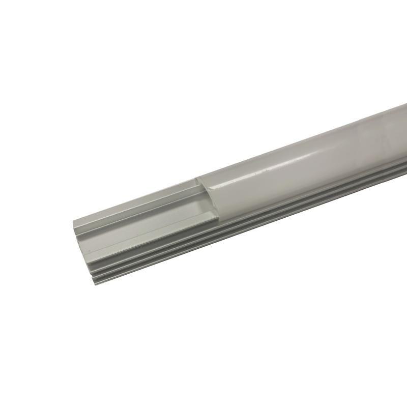 SILAMP Profilé Aluminium 1m pour Ruban LED Couvercle Opaque