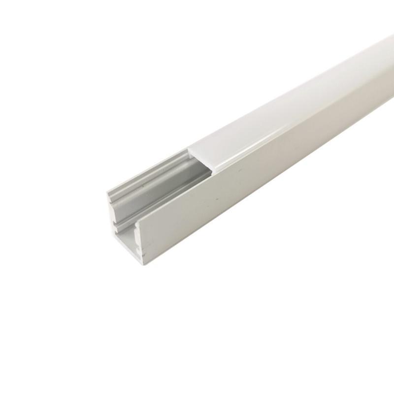 SILAMP Profilé Aluminium 2m pour Ruban LED - Cache Opaque