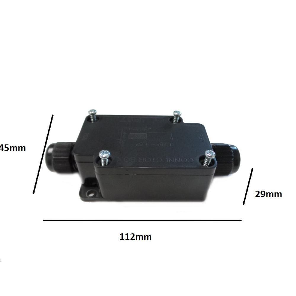 Connecteur étanche IP67 NOIR - Noir