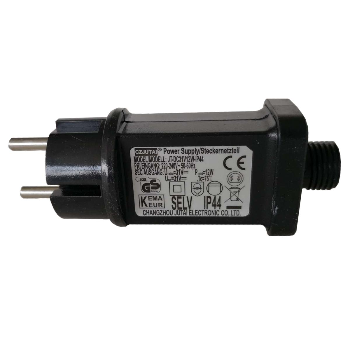 SILAMP Transformateur Guirlande LED 31V 12W IP44
