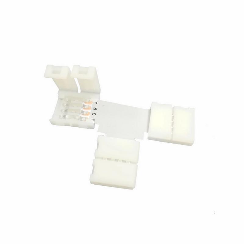 Connecteur Ruban LED 5050 12V RGB en T
