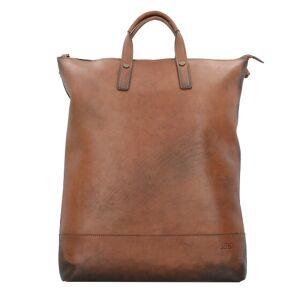 Jost Randers X-Change 3en1 Bag L Sac à dos cuir 47 cm compartiment Laptop cognac - Publicité