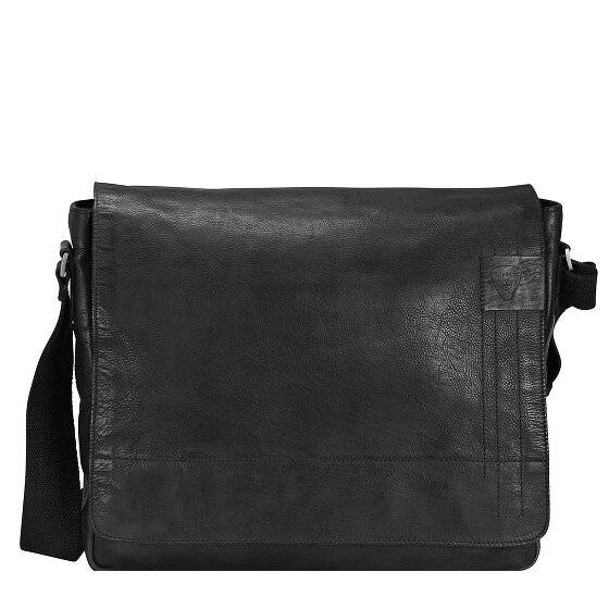 Strellson Upminster Messenger Serviette cuir 39 cm compartiment Laptop