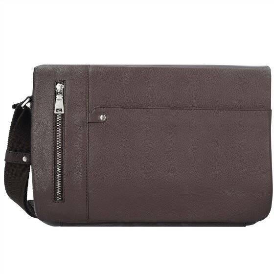 Esquire Sydney Messenger cuir 35 cm compartiment Laptop