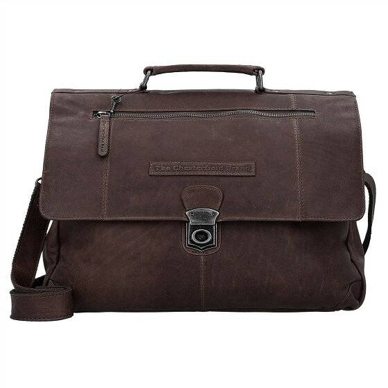 The Chesterfield Brand Matthew Serviette cuir 39 cm compartiment Laptop