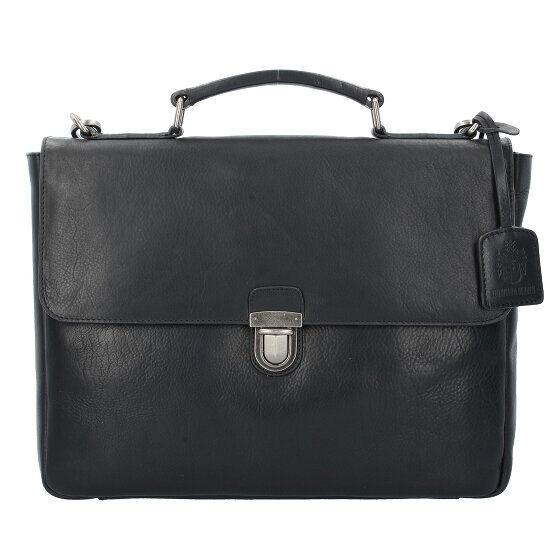 Leonhard Heyden Roma Serviette cuir 37 cm compartiment Laptop