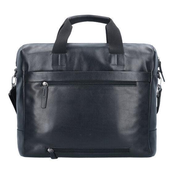 Strellson Connor Serviette cuir 39 cm compartiment Laptop