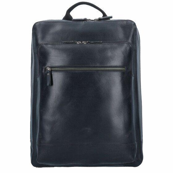Leonhard Heyden Dakota Sac à dos cuir 40 cm compartiment Laptop