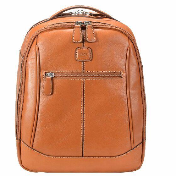 Bric's Life Pelle Sac à dos cuir 38 cm compartiment Laptop