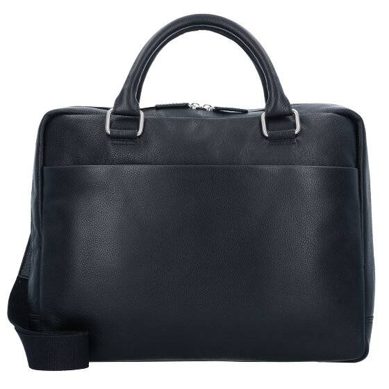 Leonhard Heyden Berlin Serviette cuir 38 cm compartiment Laptop