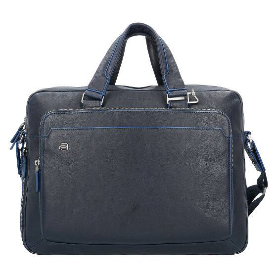 Piquadro Blue Square Serviette cuir 40 cm compartiment Laptop